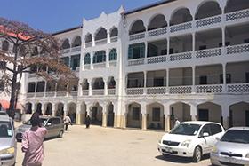 Mnazi Mmoja Referral hospital